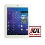 Mediamarkt Onlineshop: CMX Aquila MID 097-1016 Tablet (1,5GHz/16GB/Android4.0) in  weiß um 95 € statt 180,41 €