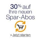 Amazon Spar-Abos: 30% – 40% auf neue Spar-Abos sparen für die erste Lieferung + keine Versandkosten
