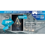 "Libro Games-Mittwoch: Assassin's Creed IV: Black Flag – The Skull Edition"" für PS3/Xbox 360 um je 27,88 €"