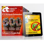 c't Testabo (print + digital): 6 Ausgaben (= 3 Monate) + sehr gute Prämie (z.B. 10€ Amazon.de Gutschein) ab 16,50€