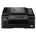 Saturn Tagesdeal: Brother MFC-J245 Tinten-Multifunktionsgerät (Scanner, Kopierer, Drucker, Fax, 6000 x 1200 dpi, USB 2.0) in schwarz um 55 €