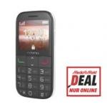 """Mediamarkt Online-Deal: """"Senioren-Handy"""" ALCATEL 2000 Tango in weiß mit großen Tasten um nur 40 €"""