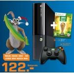 Saturn: Microsoft Xbox 360 E 4GB (im neuen Xbox One Design) + FIFA WM 2014 + 1 Controller um nur 122 €