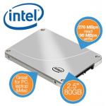 Intel 320 SSD mit 80 GB Speicher inkl. Versand um 50,90€