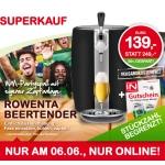 Interspar: Rowenta Beertender um € 139,- + 2 Bierfässer