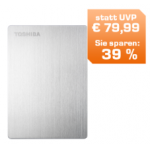 Toshiba Slim externe 2,5″ USB 3.0 Festplatte 500 GB um 49€