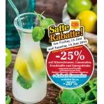 -25 % auf Mineral, Limo, Fruchtsäfte und Energydrinks bei BILLA am 13. u. 14. Juni (nur für Vorteilsclubmitglieder)
