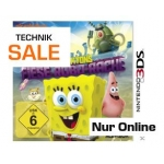 "Saturn Technik Sale: ""Spongebob Schwammkopf: Planktons Fiese Robo-Rache"" für Nintendo 3 DS um nur 9 € inkl. Versand"