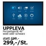 "Ikea Vösendorf: 46 Zoll TV ""UPPLEVA"" um 299€"