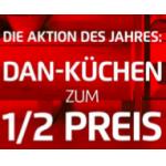 DAN-Küchen: – 50% + Lieferung & Montage kostenlos bei Kika / Leiner