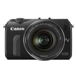 Canon EOS M Systemkamera mit Objektiv EF-M 18-55mm 3.5-5.6 IS STM inkl. Versand um 299€