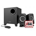 Creative T3150W 2.1 Bluetooth Lautsprechersystem um 44 € im Mediamarkt Onlineshop