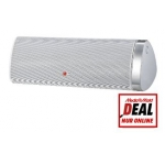 LG NP6630 tragbarer Lautsprecher (AirPlay, Bluetooth, DLNA) weiß um 75 € im Mediamarkt Onlineshop
