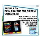 Libro Onlineshop: 5 € Gutscheincode, ab 20 € Bestellwert anwendbar