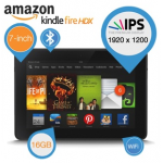 Amazon Kindle HDX 7″ Tablet mit 16GB inkl. Versand um 135,90€