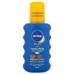 Amazon Urlaubsaktion: 20 % Rabatt auf Pflegeprodukte – zB.: Nivea Sun Spray LSF 50+ 200ml um 7,16 €