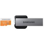 Samsung EVO 16GB microSDHC Class 10 Speicherkarte (bis zu 48MB/s Transfergeschwindigkeit) inkl. USB Adapter um 14,90€