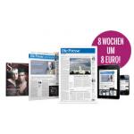 """8 Wochen """"Die Presse"""" + """"Die Presse am Sonntag"""" & mehr um 8 Euro"""