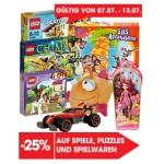 -25% auf Spiele, Puzzles & Spielwaren bei Libro