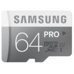Samsung Memory 64GB PRO MicroSDXC Speicherkarte (bis zu 90MB/s) inkl. Versand um 57€