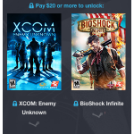 Humble 2K Bundle mit mind. 8 Games (z.B.: Bioshock Infinite & XCOM) um 14,68€