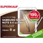 Samsung Galaxy Note 8.0 N5110 16GB inkl. Versand um 199€