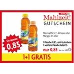 Spar Mahlzeit Gutscheine zB.: 2 x 0,5l Nestea um 0,85 €