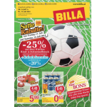 Neue Sortimentsaktionen (z.B.: -25% auf Bier, frisches Rind- & Schweinefleisch bei Billa)