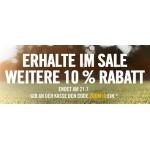 10 % zusätzlichen Rabatt auf alles im Sale-Bereich vom Nike-Onlinestore
