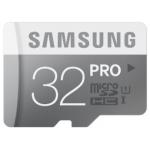 Samsung microSDHC PRO 32GB Speicherkarte inkl. Versand um 34,90€