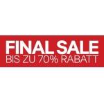 SALE mit bis zu 70 % Rabatt bei H&M (im Onlineshop und in den Filialen)