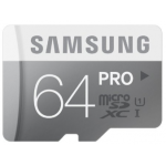 Samsung 64GB PRO MicroSDXC Class 10 Speicherkarte (bis zu 90MB/s) inkl. Versand um 59,99€