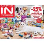 Neue Sortimentsaktionen (z.B.: -25% auf alle Tiernahrungs- und Tierzubehör-Artikel bei Interspar)