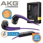 iBood.at: 2 Stück AKG K328 In-Ear Kopfhörer mit Mikrofon in lila um 25,90 € inkl. Versand