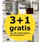 IKEA Vösendorf: 3+1 gratis auf alle Elektro-Küchengeräte bis 26. Juli