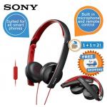 Sony MDR-S70AP (weiß) Kopfhörer im Doppelpack inkl. Versand um 39,95€
