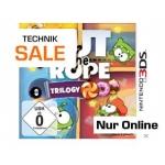 "Saturn Technik Sale: ""Cut the Rope: Trilogy"" für Nintendo 3DS um17 € inkl. Versand"