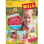 Neue Sortimentsaktionen (z.B.: -25% auf Mineralwasser, Fruchtsäfte, Limonaden und Energydrinks bei Billa)