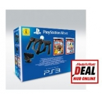 Mediamarkt Online Deal: PlayStation Move Racing Wheel inkl. Little BigPlanet: Karting + Sports Champions 2 für PS3 um nur 44 € inkl. Versand