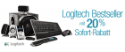 Logitech Bestseller mit 20% Sofort-Rabatt @Amazon