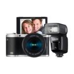 Saturn Tagesdeal: NX300 schwarz mit Objektiv NX 18-55mm & Samsung SEF-580A Blitzgerät um nur 399 €