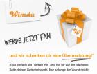 75€ wimdu Gutschein + 30€ Amazon Gutschein wenn ihr Wimdu Fan werdet @Facebook