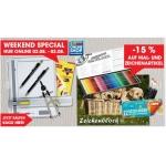 Mal & Zeichenartikel -15% im Libro Weekend Special