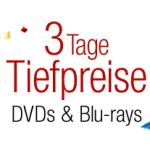 3 Tage Tiefpreise bei Blu-rays & DVDs bei Amazon.de