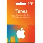 Interspar: 25 € iTunes-Karten um 20 € vom 7. – 9.8.2014