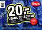 -20€ auf Jeans, 3 für 2 Schuhe/T-Shirts u.v.m Gutscheine @Hervis.at