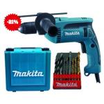 Makita HP1641K Schlagbohrmaschine inkl. Versand um 79,90€