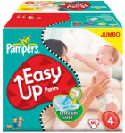 Pampers Easy Up Windeln 120 Stück um 19,99€ (0,17€ pro Windel) @Amazon.de