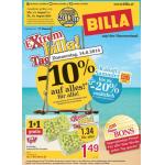 Billa Prospekt Aktionen (Super Sommer Bons, 10% auf alles, 1+1 gratis)