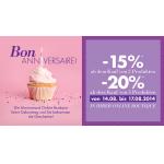 Marionnaud: -15% bis -20% in der Online Boutique